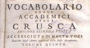 vocabolariocrusca